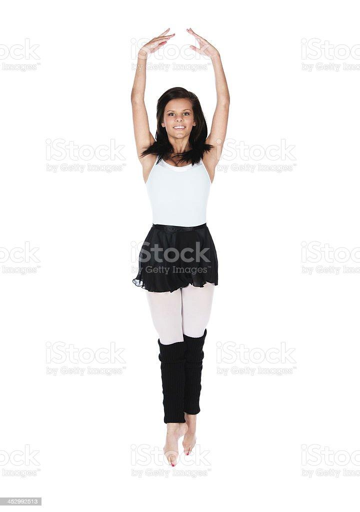 Female modern dancer royalty-free stock photo