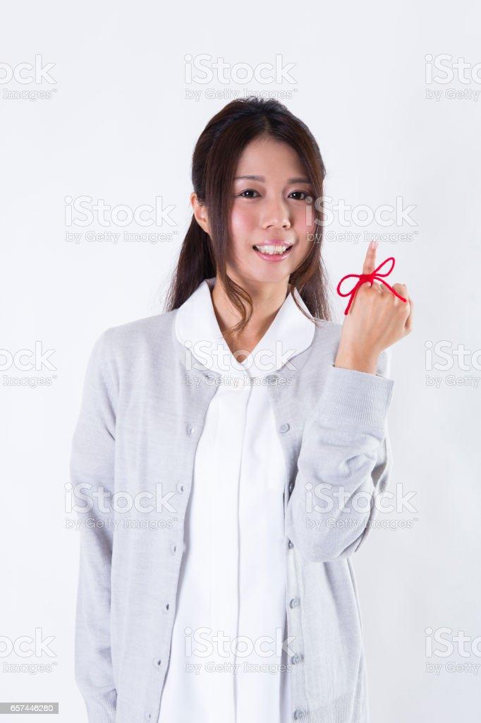 Female nurse stock photo