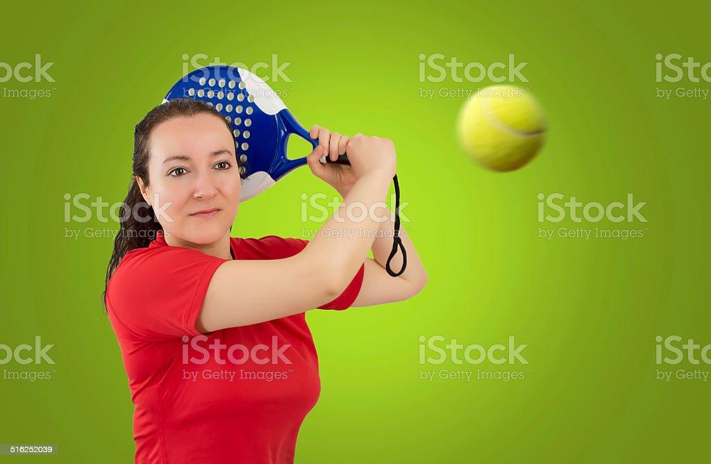 female paddle stock photo