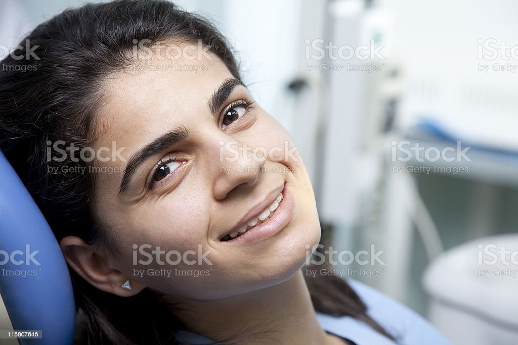 Female patient royalty-free stock photo