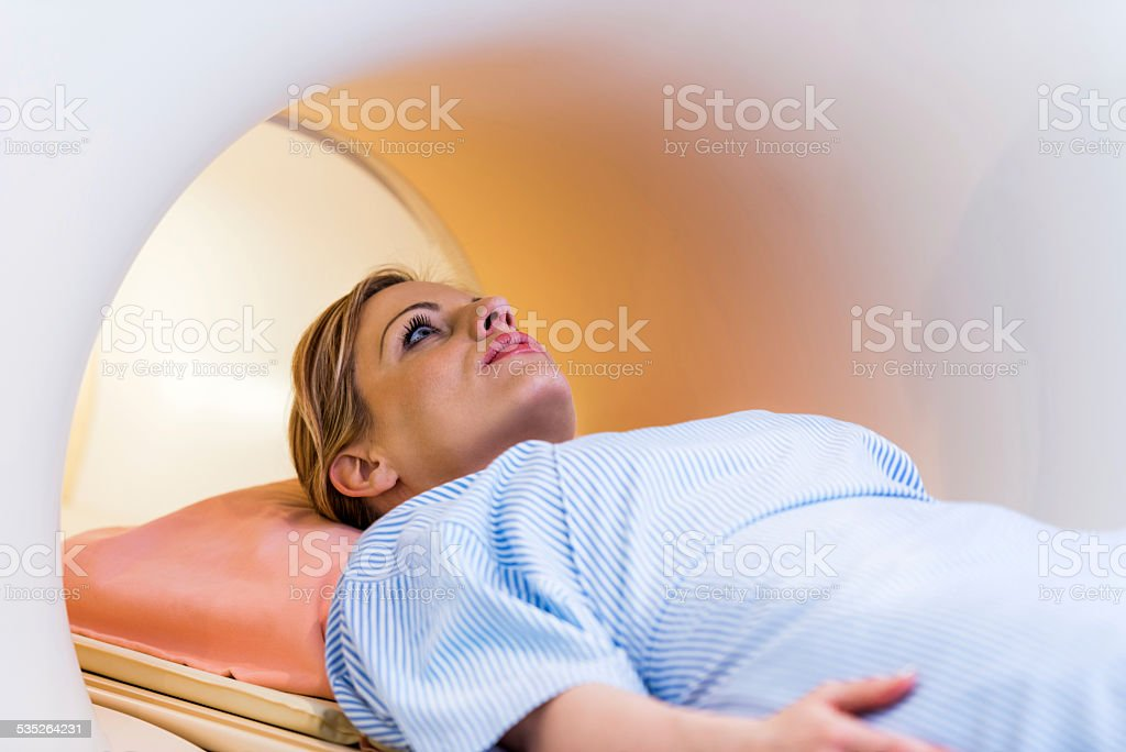 Female patient. stock photo