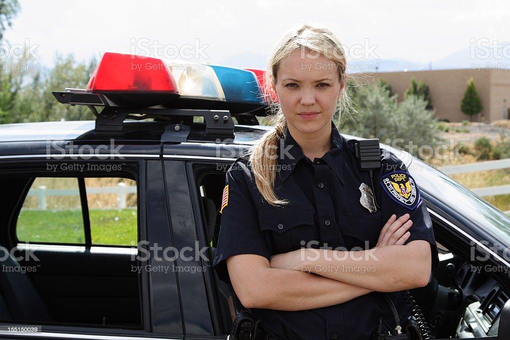Female Police Officer stock photo