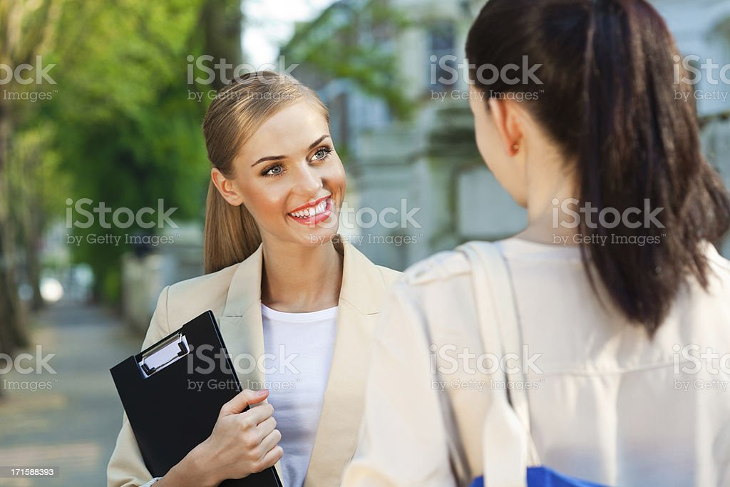 Female Real Estate Agent royalty-free stock photo