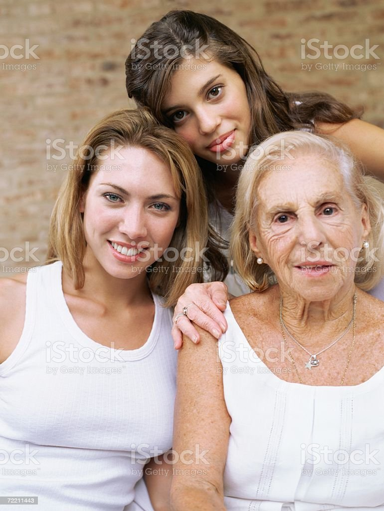 Female relatives royalty-free stock photo