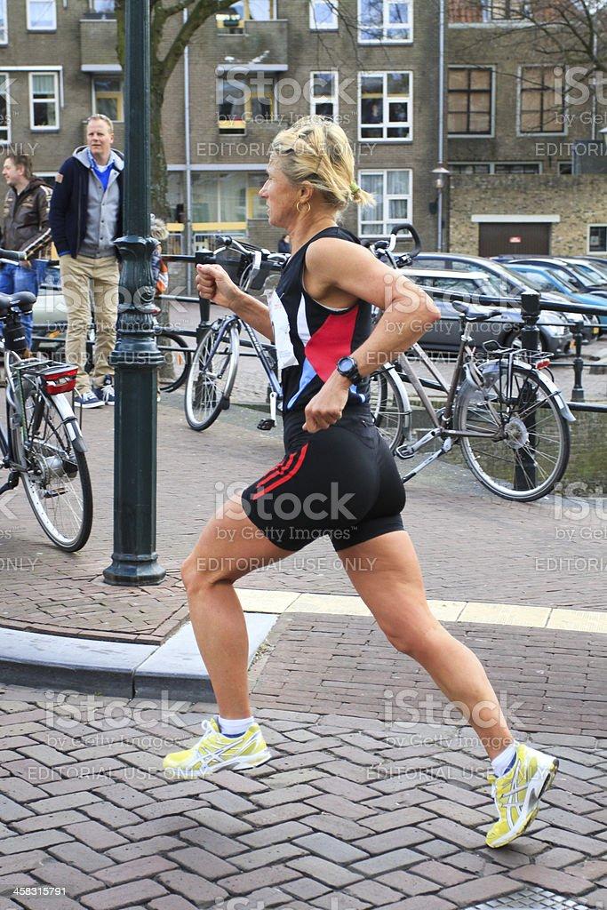 Female runner royalty-free stock photo