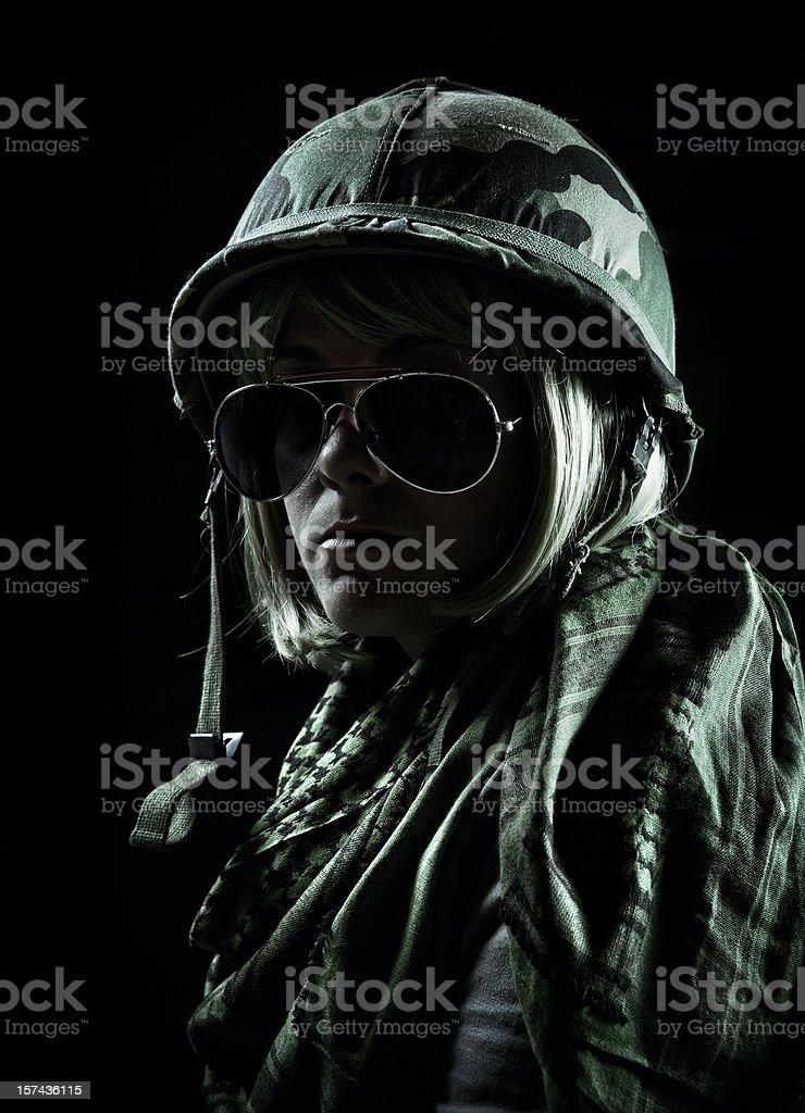 female sargent stock photo