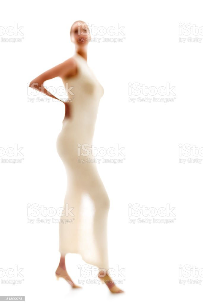 Female Silhouette stock photo