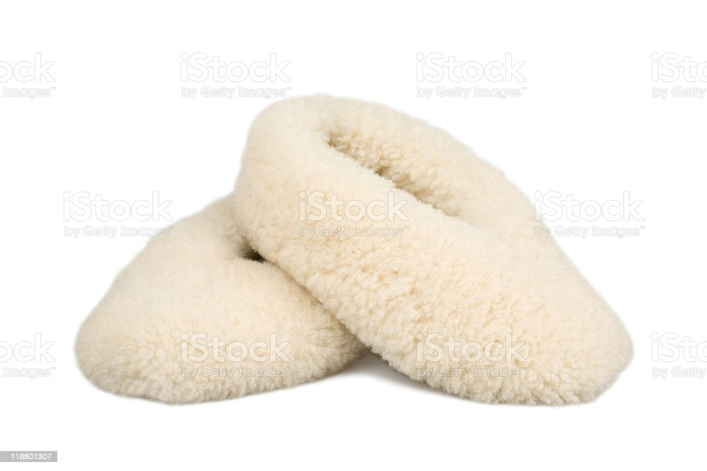 female slippers stock photo