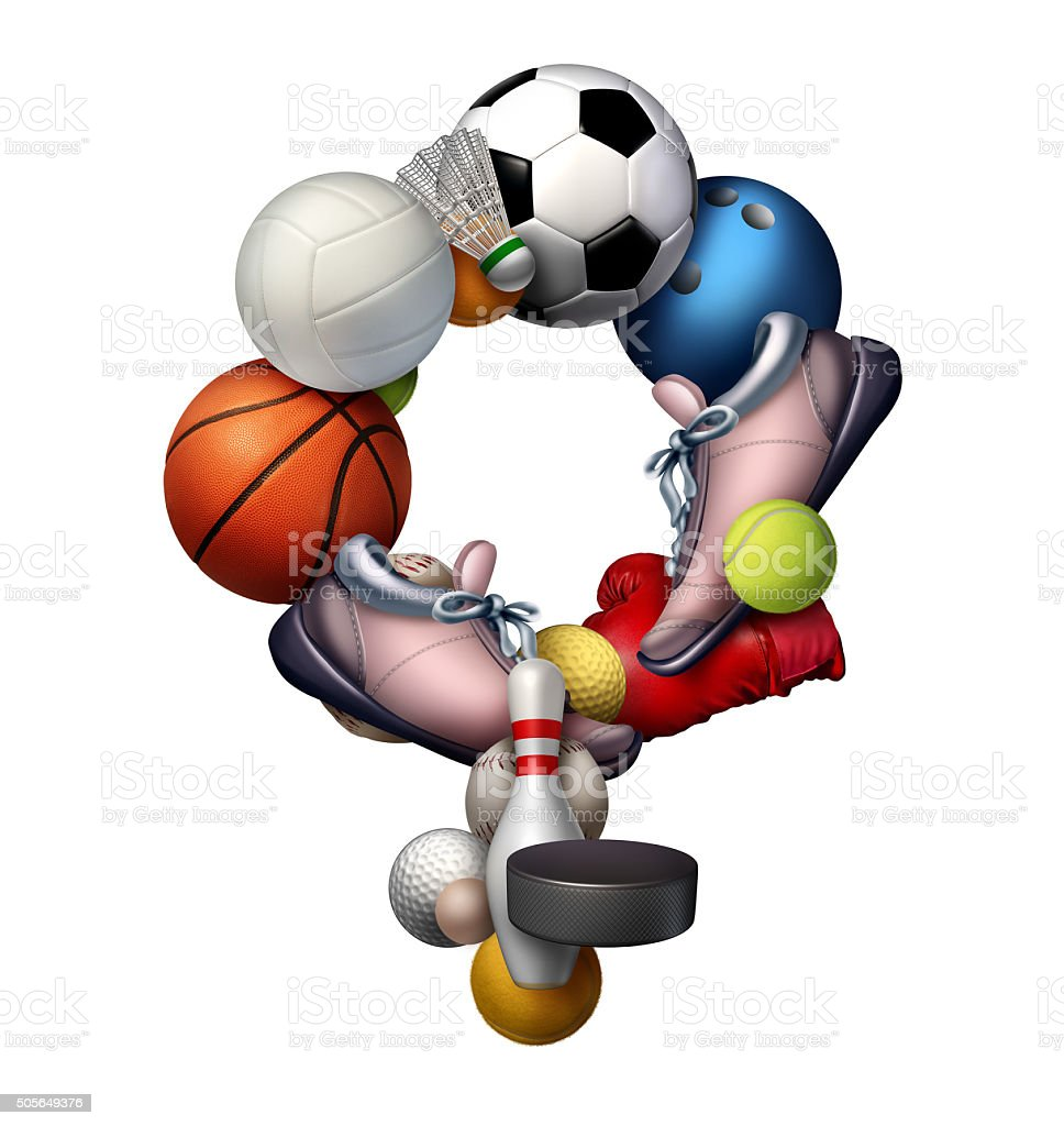 Female Sports stock photo