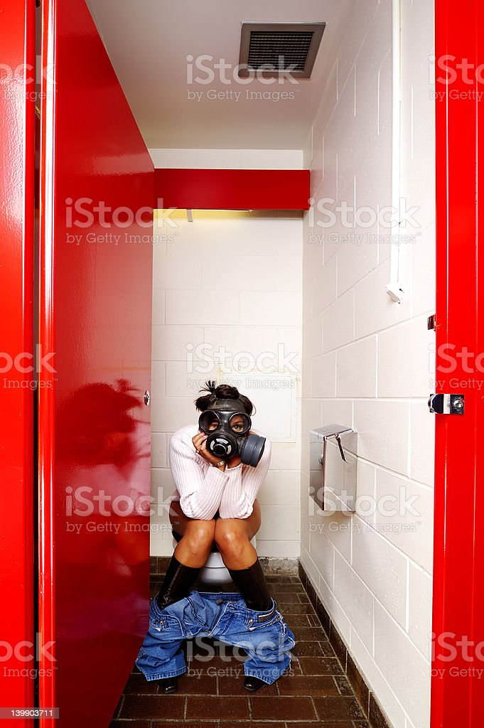 Female Stall royalty-free stock photo