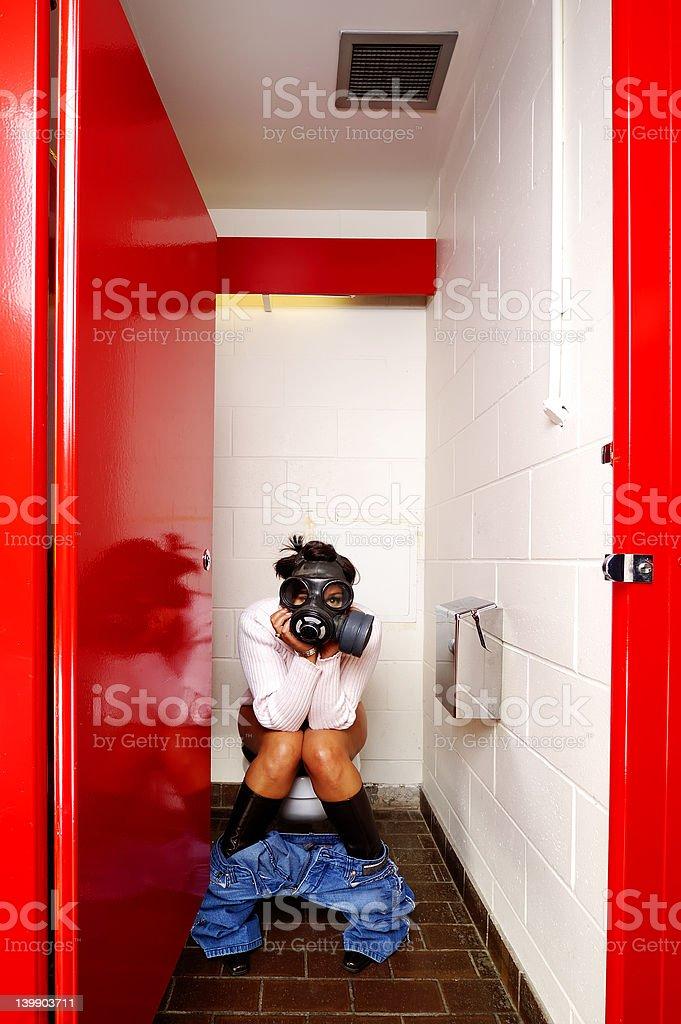 Female Stall stock photo