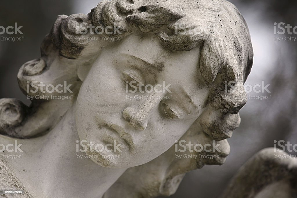 Female Statue Detail royalty-free stock photo