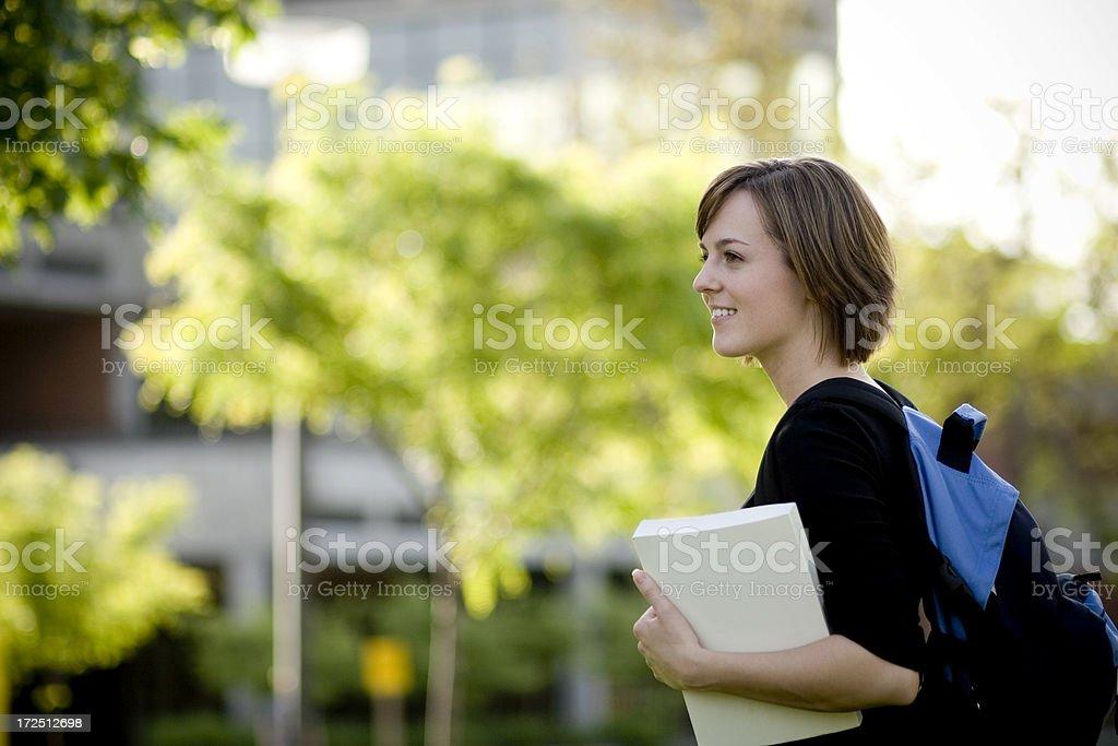 Female Student royalty-free stock photo