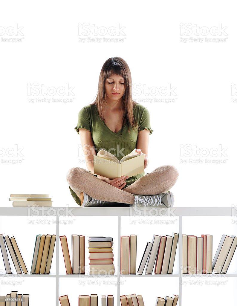 Étudiante Portrait photo libre de droits