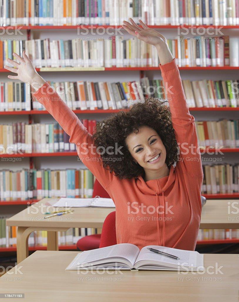 Female student portrait royalty-free stock photo