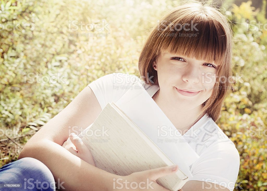Female Student Portrait royalty-free stock photo
