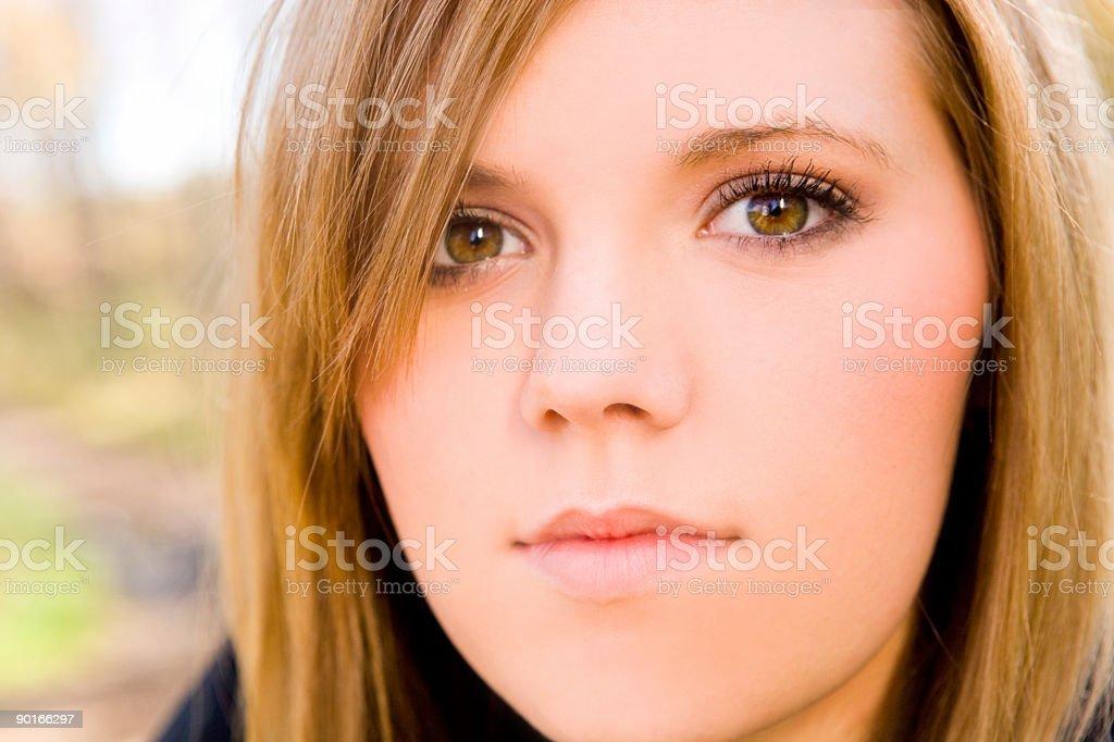 Female Teen stock photo