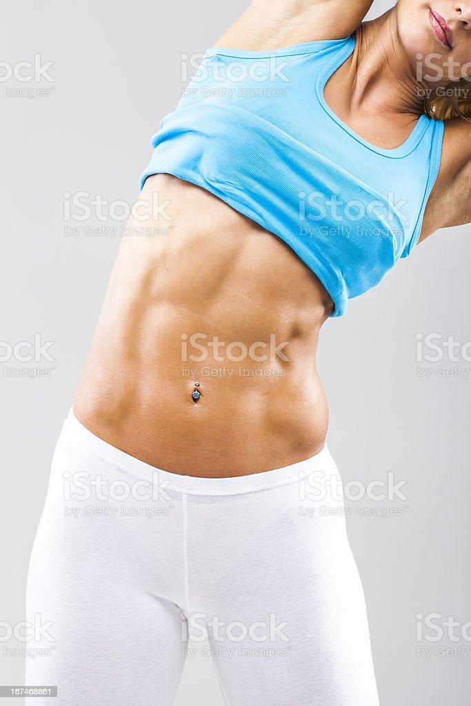 Female torso royalty-free stock photo