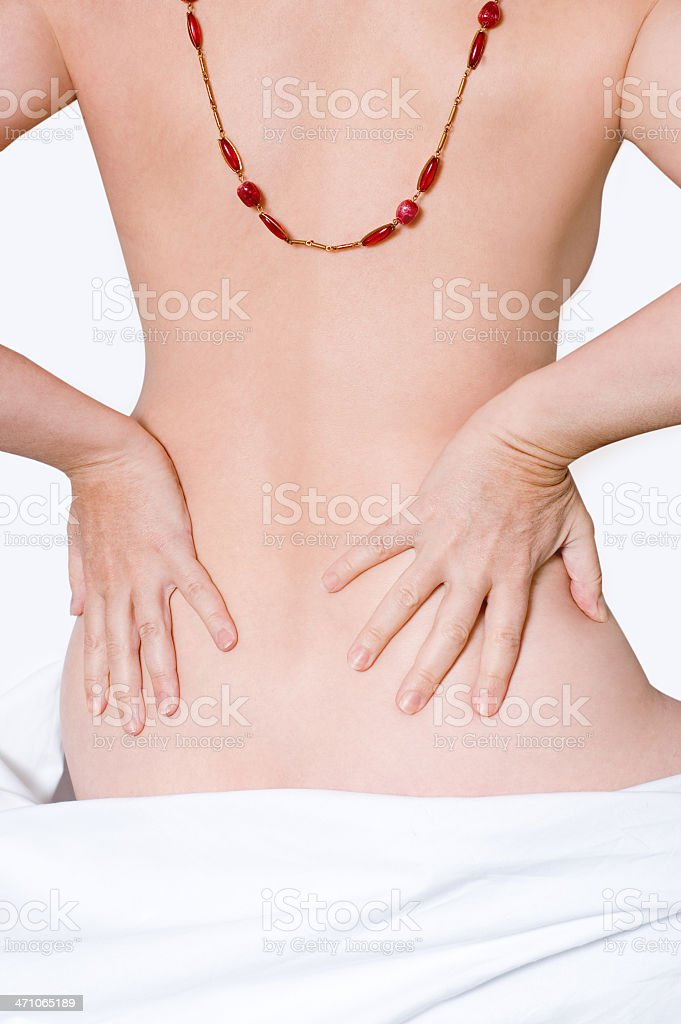 Female Torso (clipping path) royalty-free stock photo