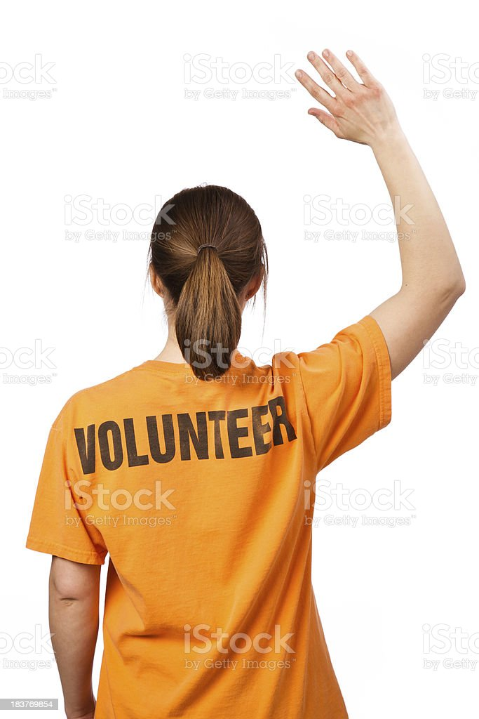 Female Volunteer royalty-free stock photo