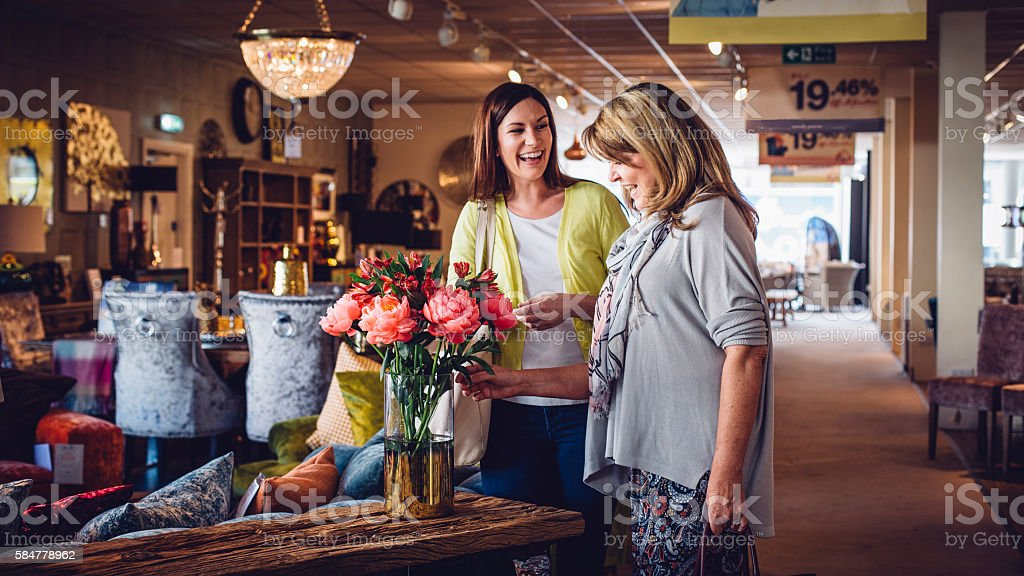 Females working together stock photo