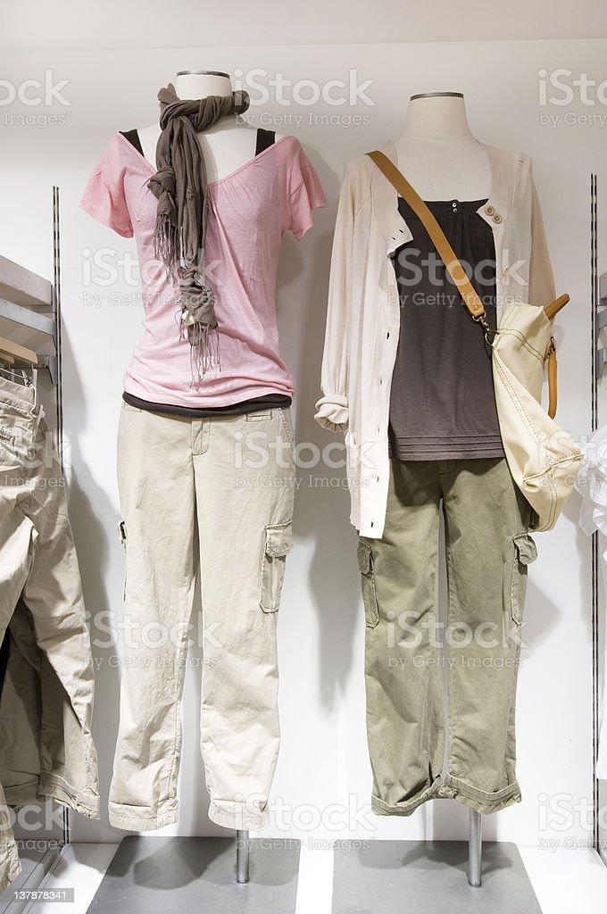 Feminine Clothings royalty-free stock photo