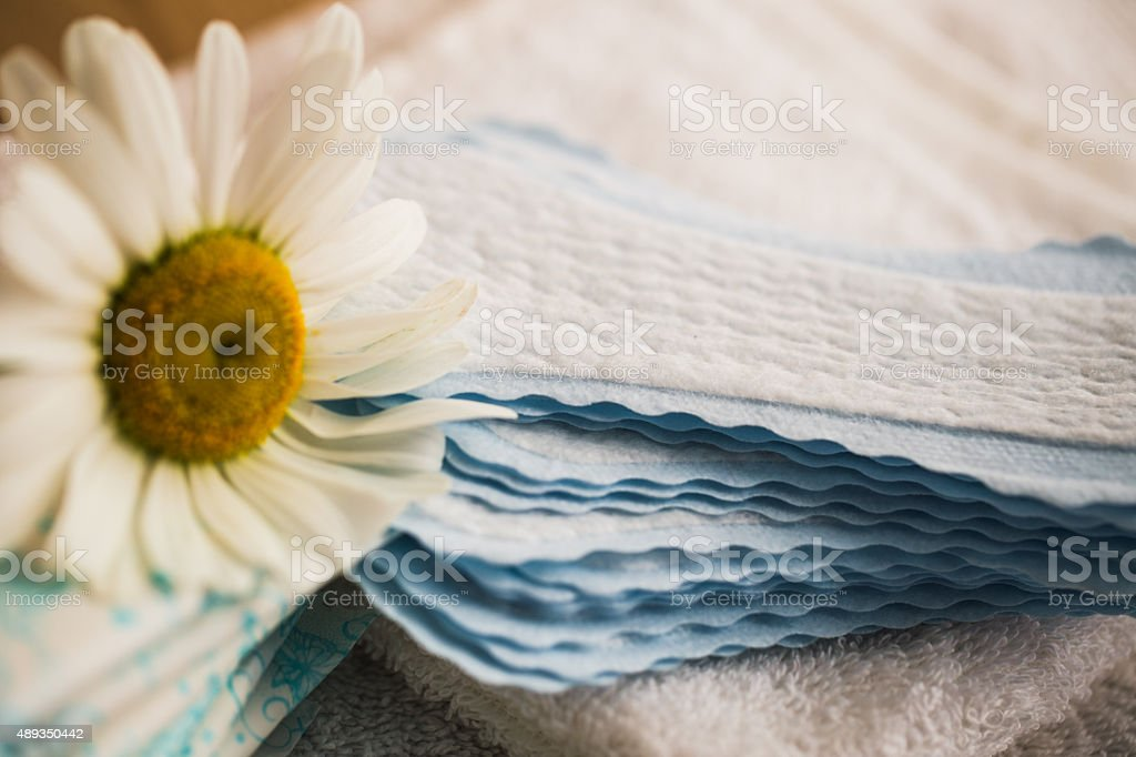 feminine hygiene - beauty treatment stock photo