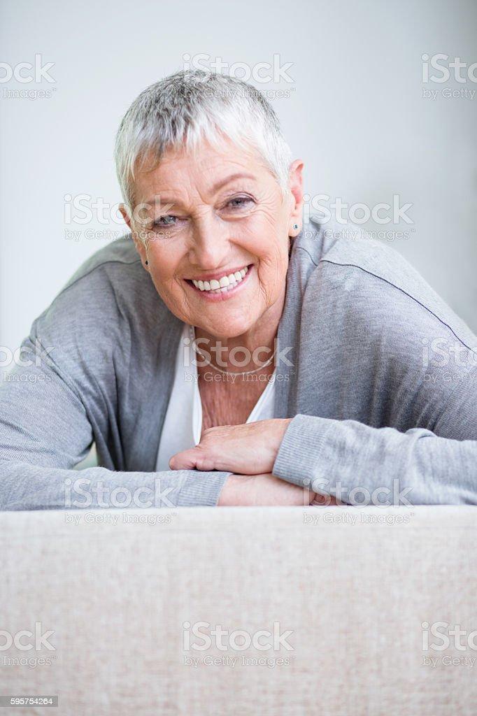 Femininity and vitality stock photo