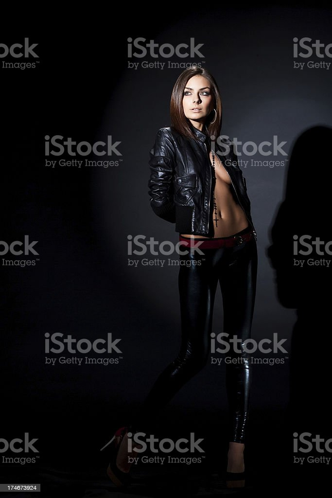 Femme fatal royalty-free stock photo