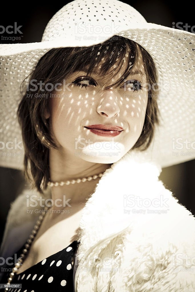 Femme fatale royalty-free stock photo