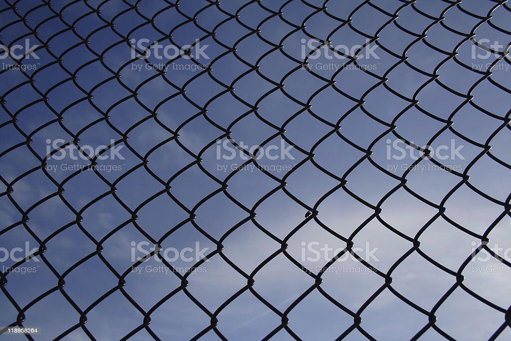 Fence Background royalty-free stock photo