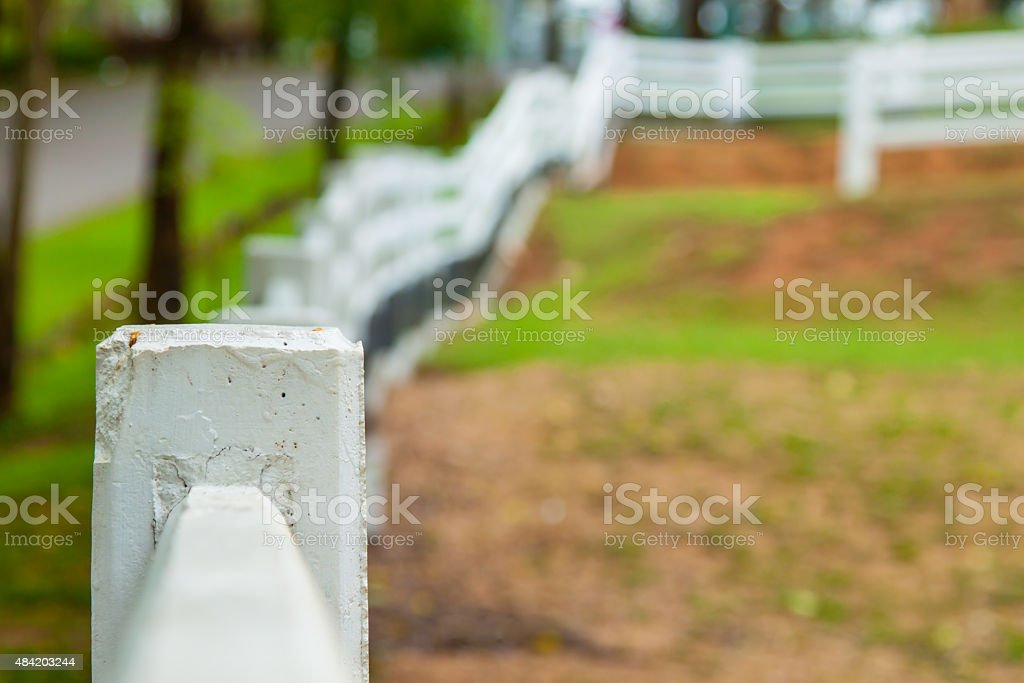 fence farm stock photo