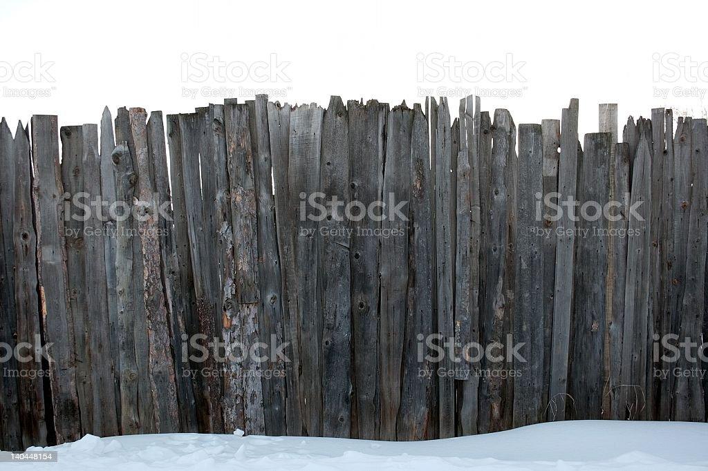 Valla foto de stock libre de derechos