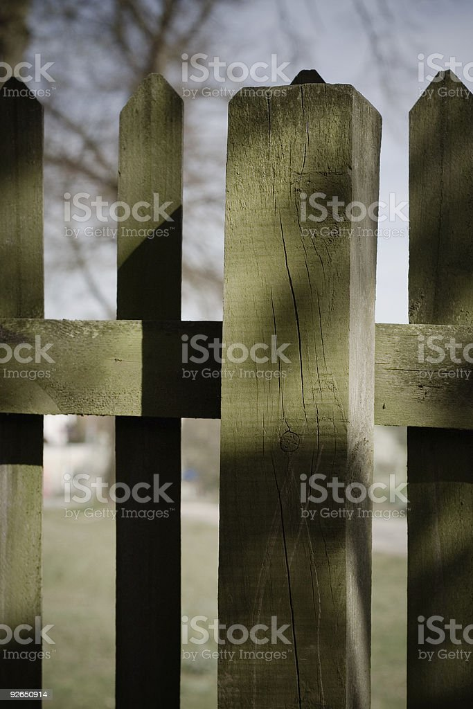 fence stake royalty-free stock photo