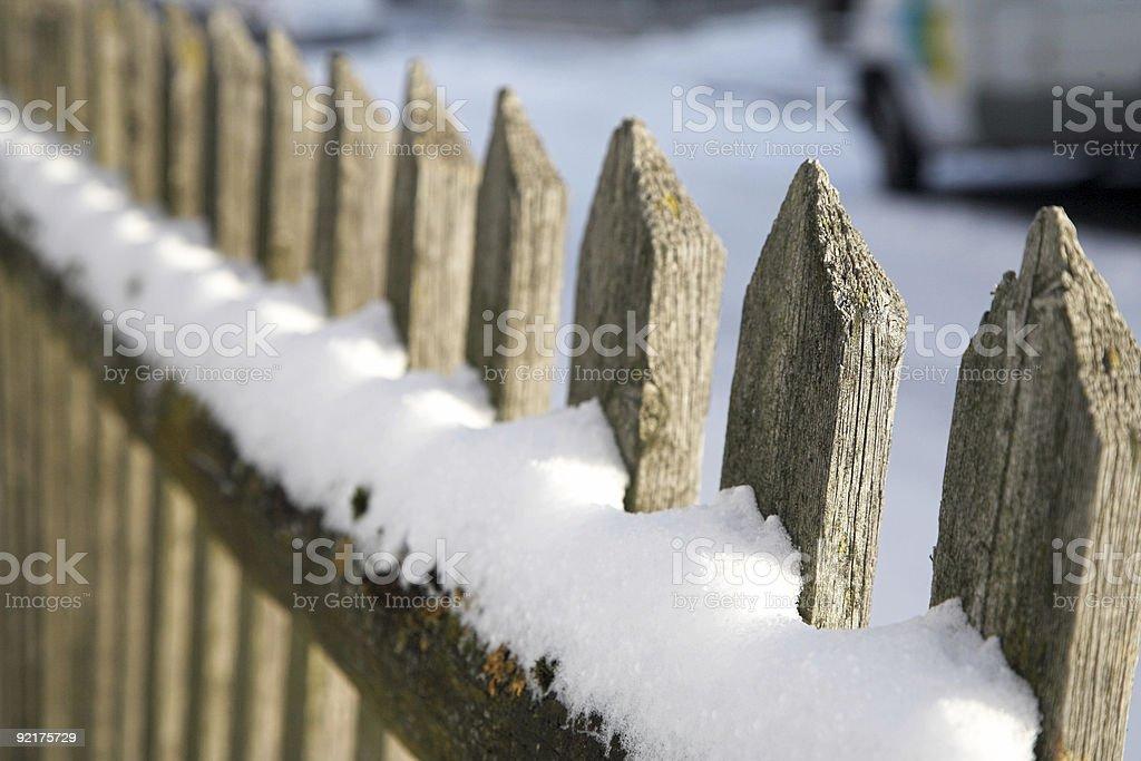 Fences stock photo