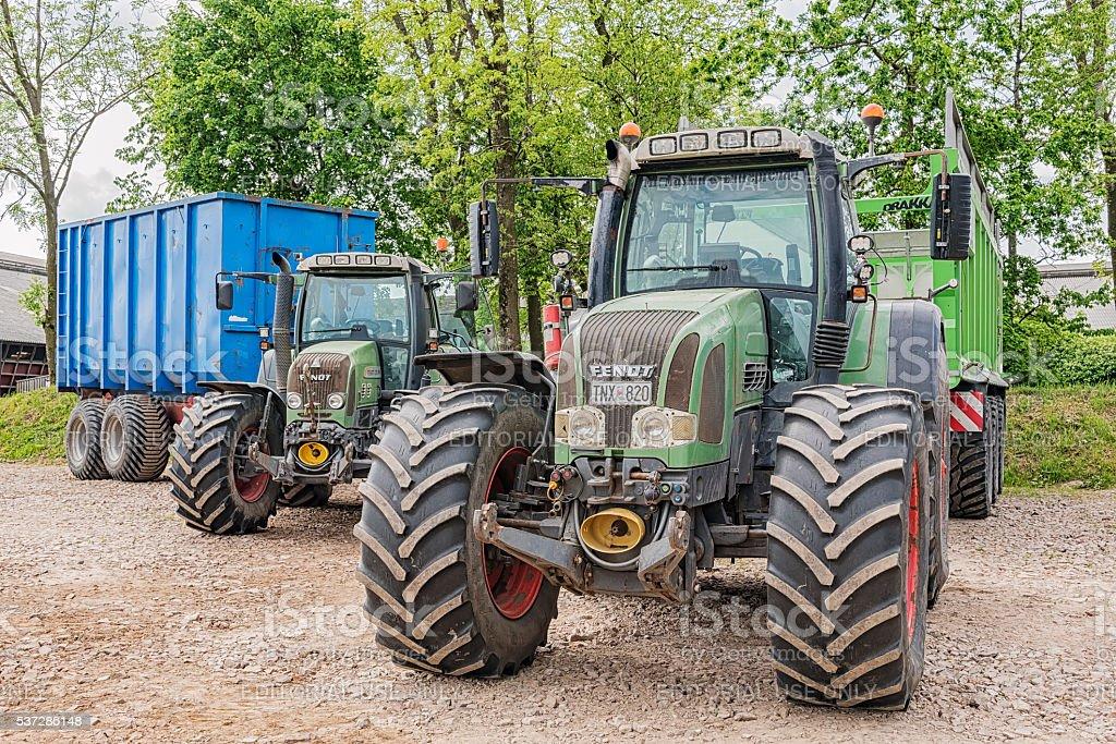 Fendt Tractors stock photo