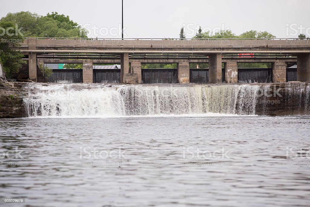 Fenelon Falls stock photo
