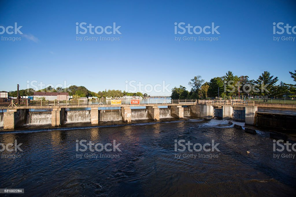 Fenelon Falls stock photo