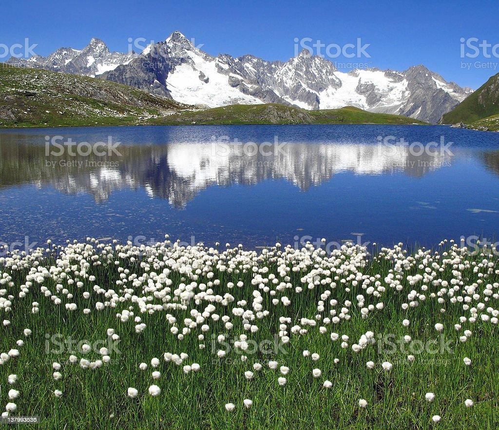 Fenetre Lakes 05, European Alps stock photo