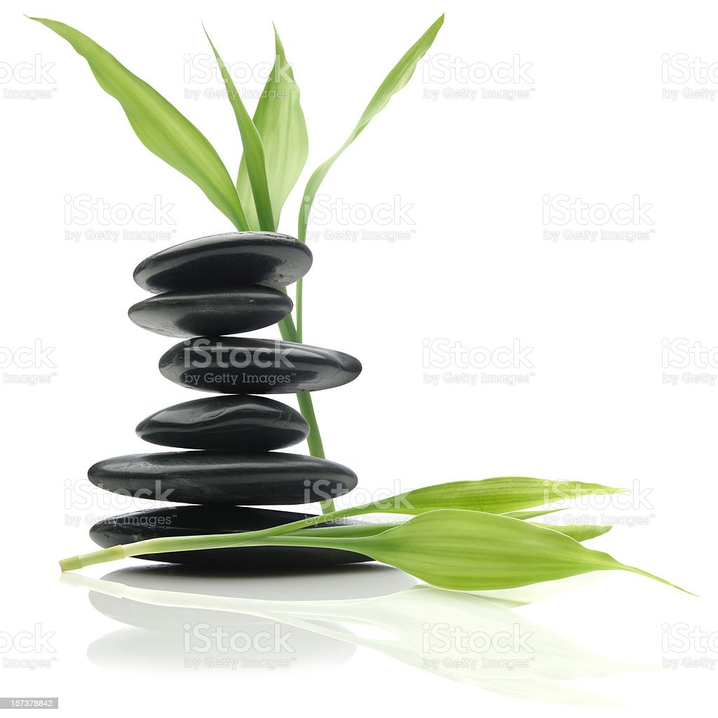 Feng Shui Balance stock photo