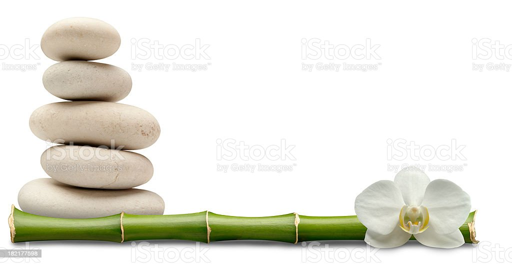 Feng Shui Border royalty-free stock photo