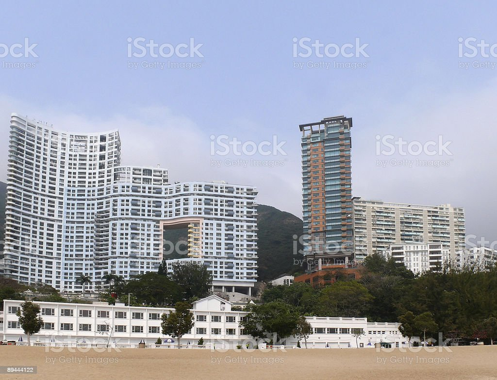 Feng Shui building royalty-free stock photo