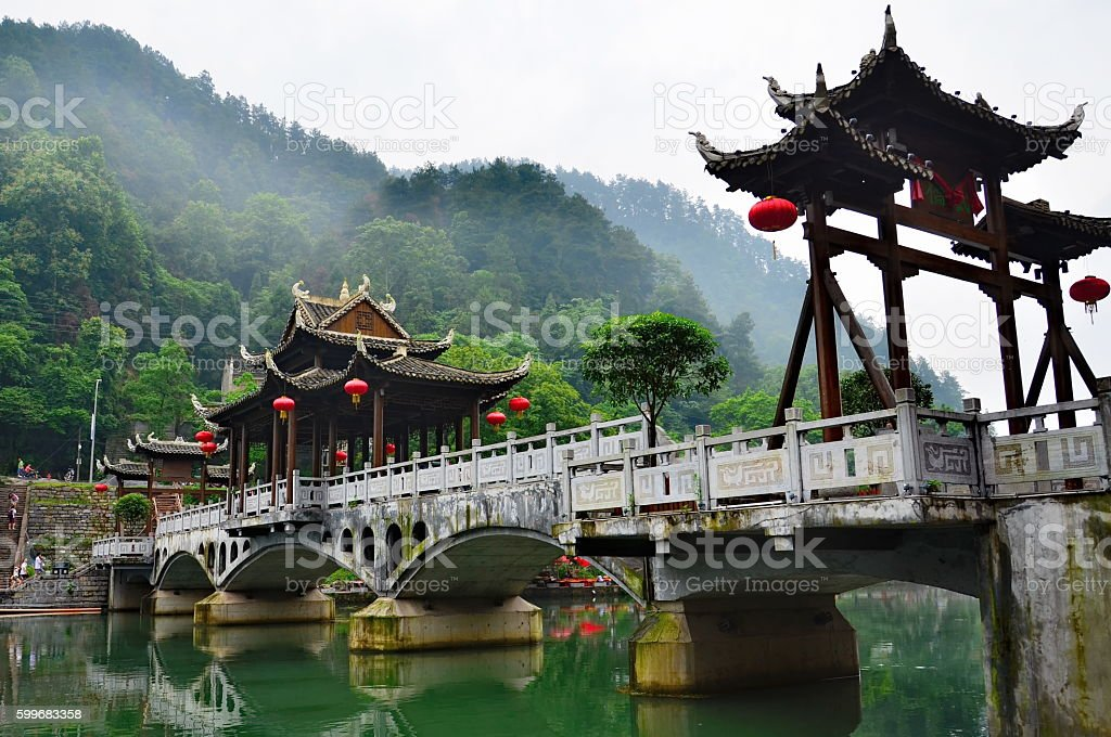 Fenghuang county in Hunan, China stock photo