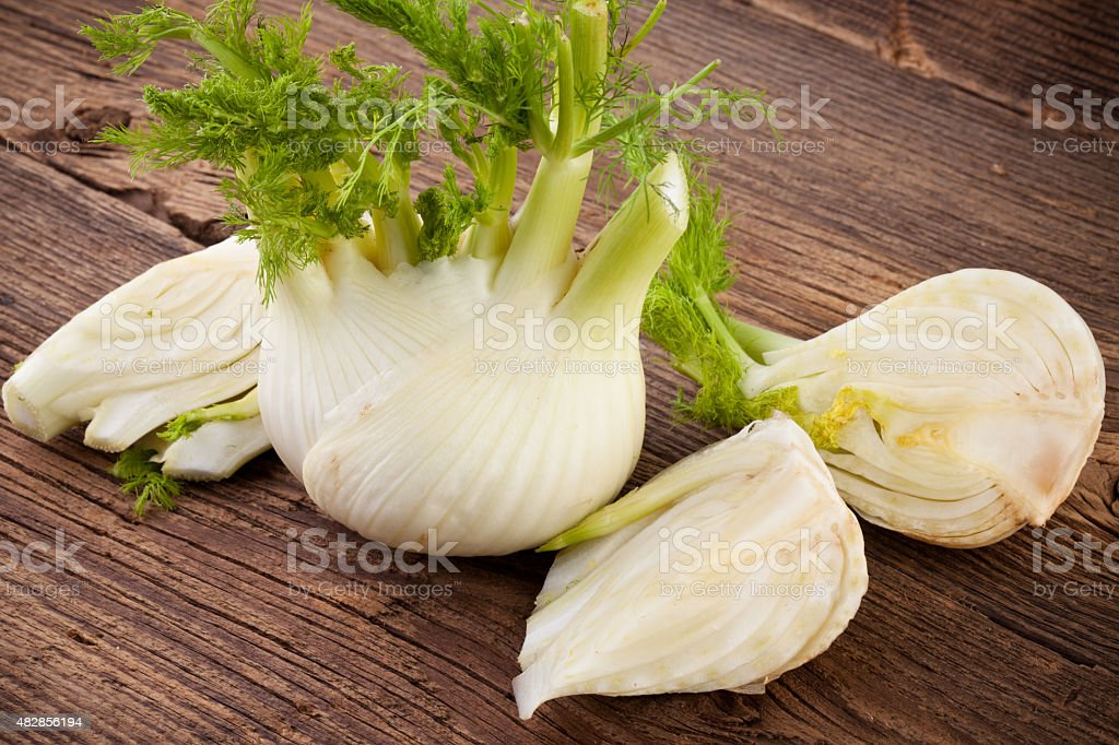 Fennel Fresh Vegetable stock photo