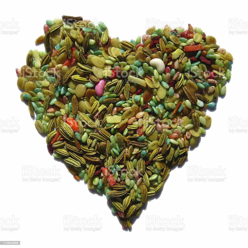 Fennel Heart royalty-free stock photo