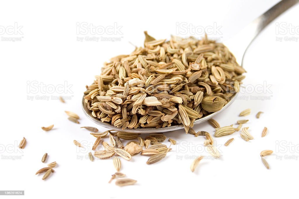 Fennel seeds royalty-free stock photo
