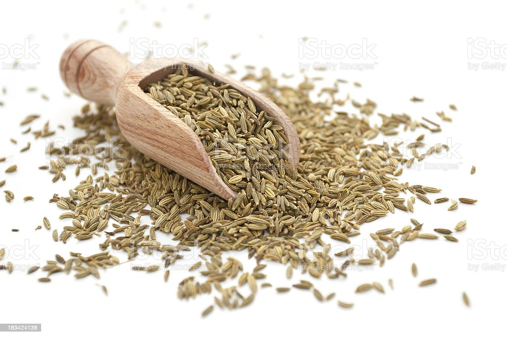 Fennel Seeds. royalty-free stock photo
