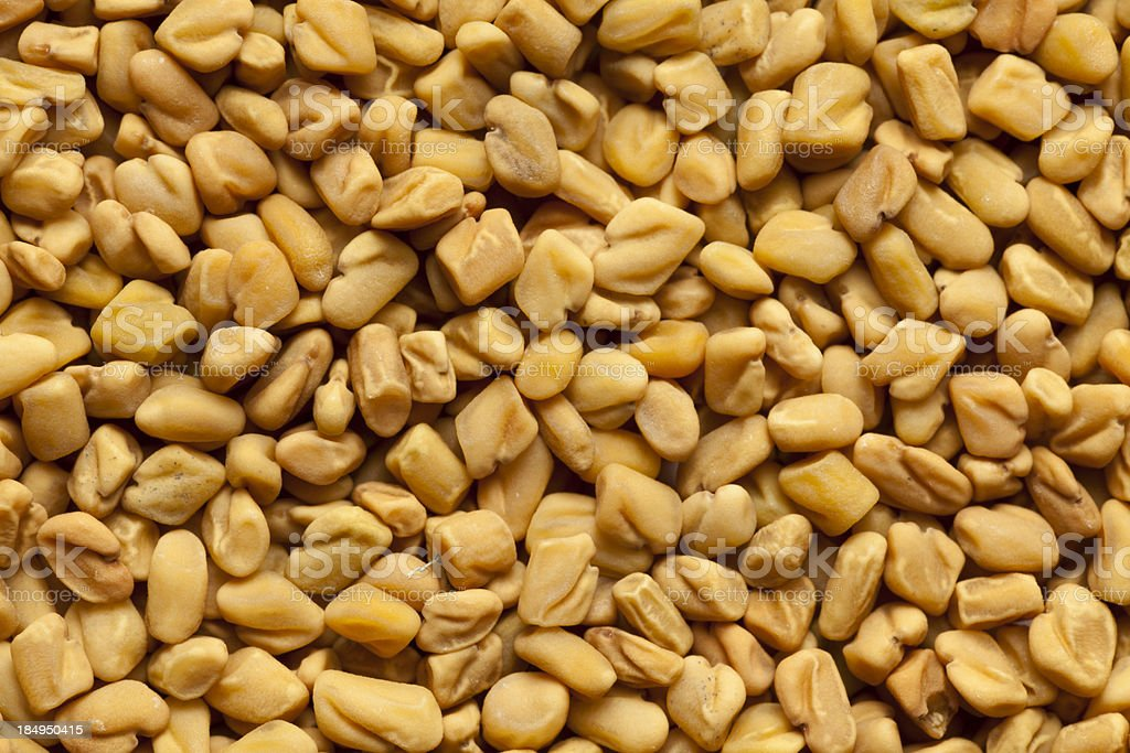 fenugreek seeds royalty-free stock photo