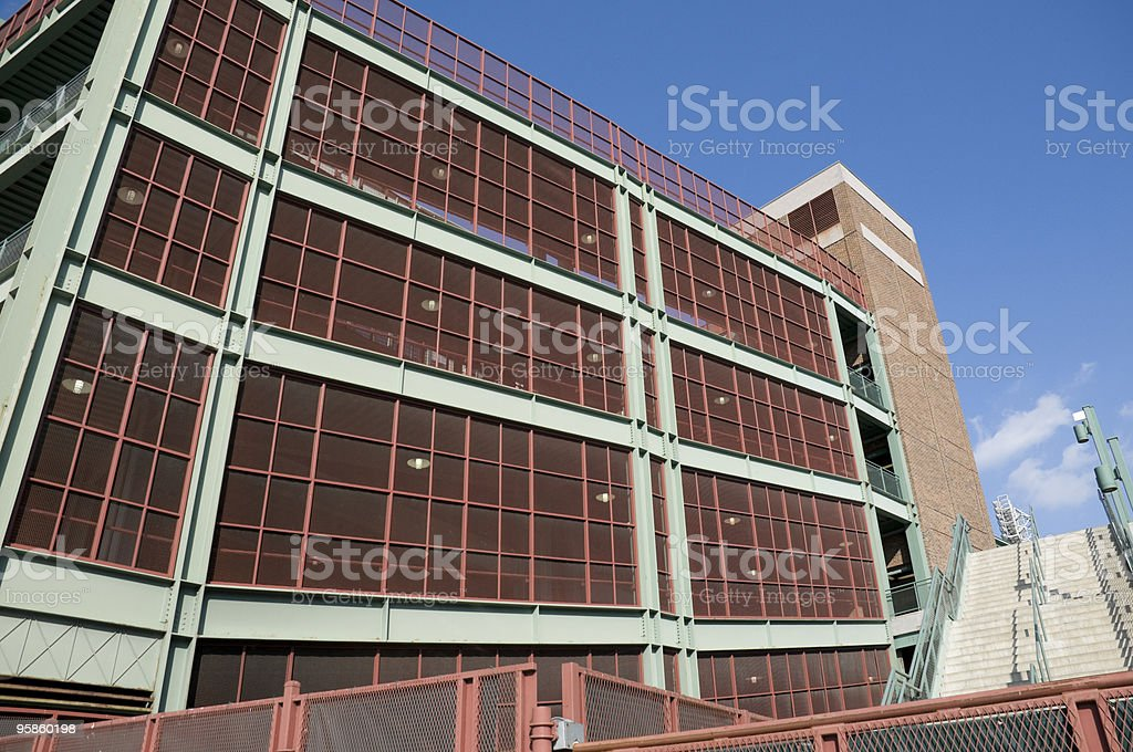 Fenway Park in Boston royalty-free stock photo