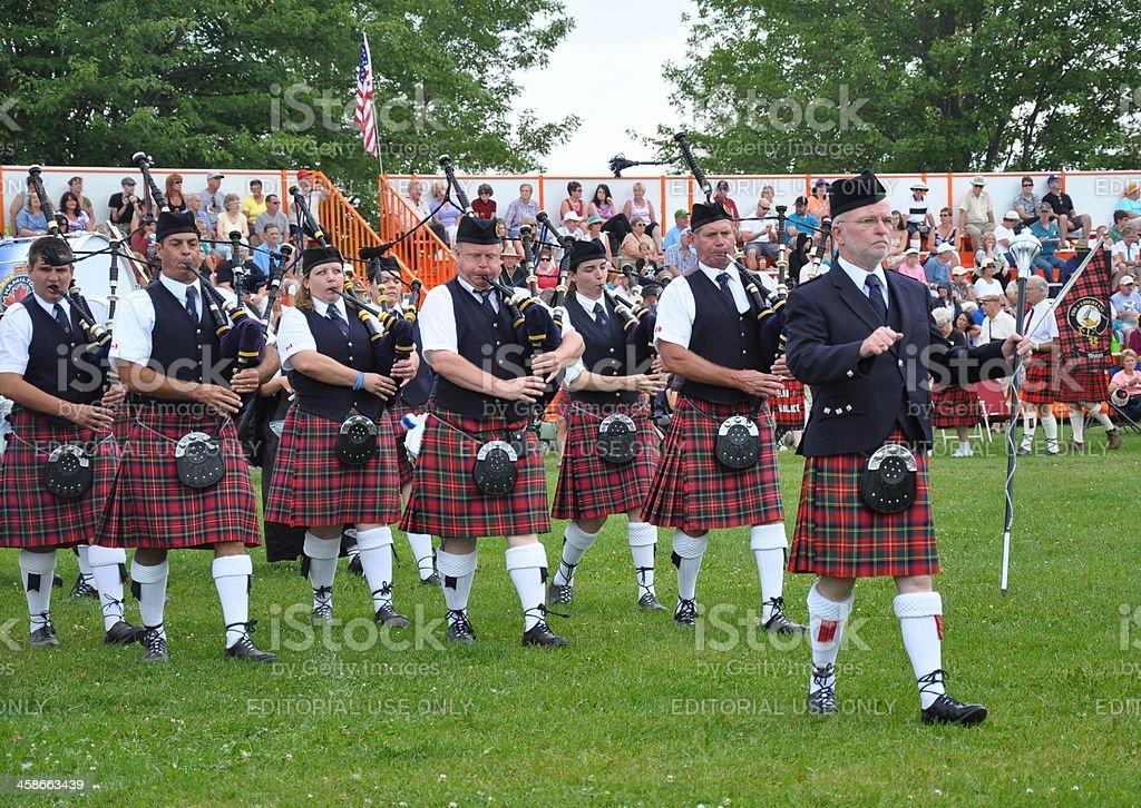 Fergus Scottish Festival and Highland Games stock photo